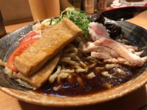 中太縮れ麺
