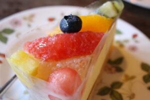 フルーツのレアチーズ2