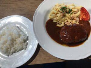 豆腐のハンバーグ1